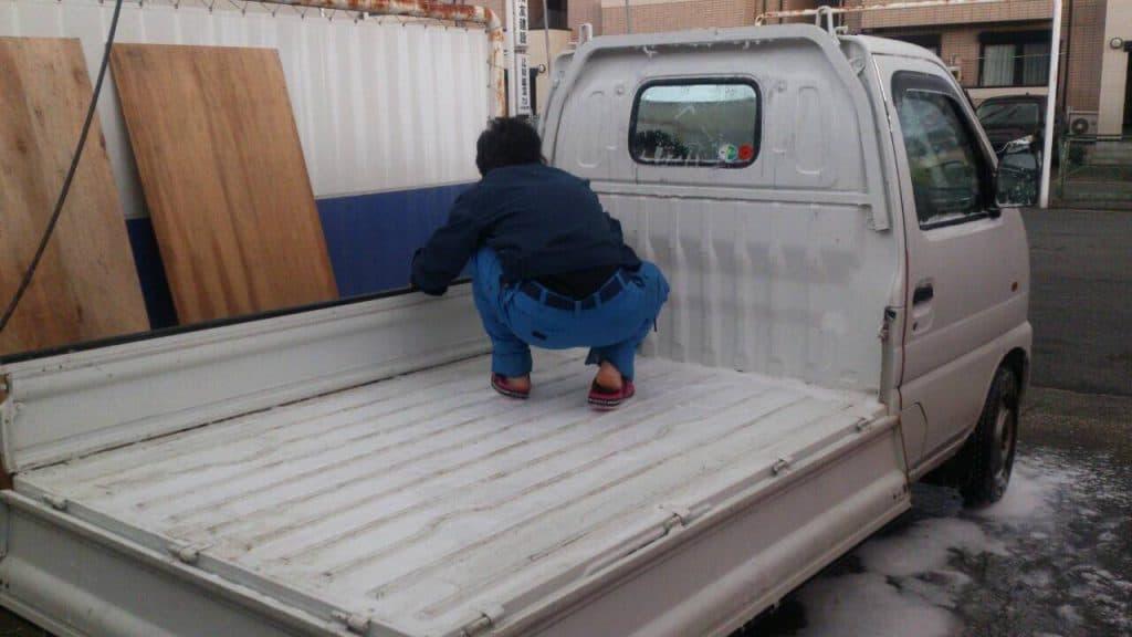 本日は洗車をしました(^^♪