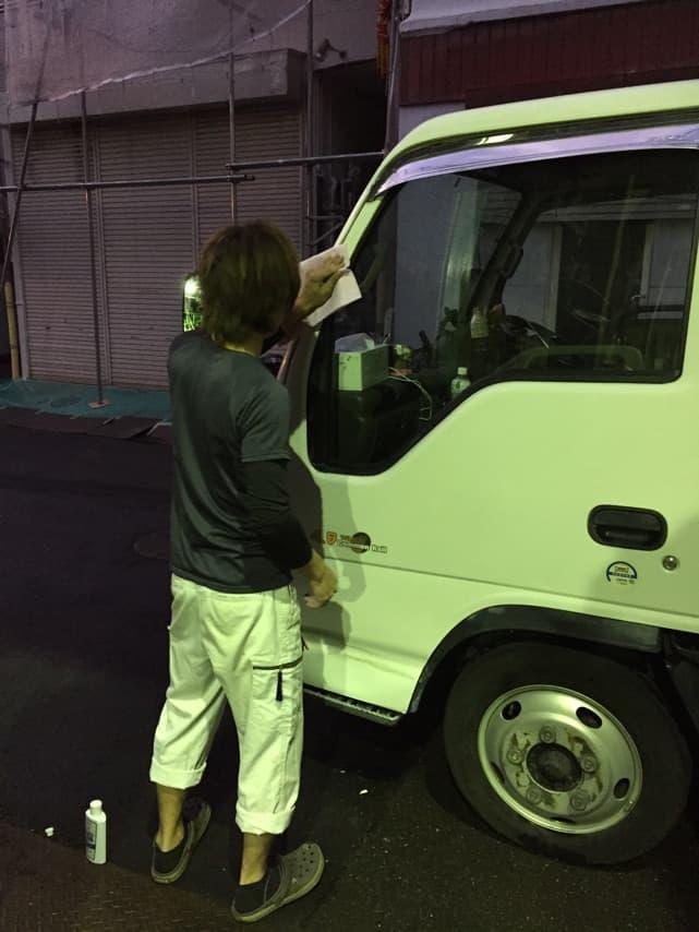 関西プロスタッフ 洗車(^^)/