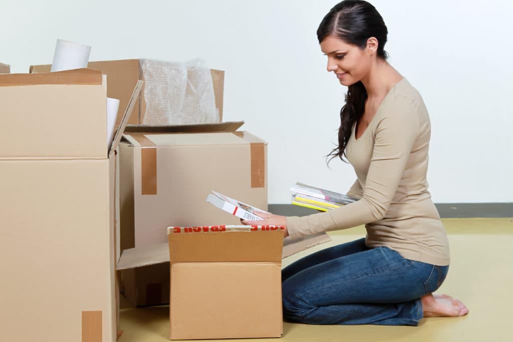 引っ越しまでに時間がない!効率の良い荷造り方法